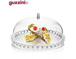 Guzzini Tiffany Set Tortiera 2 Pcs Plastica Trasparente