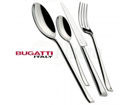 Bugatti Duetto Cutlery Set 24 Pcs Glossy Stainless steel