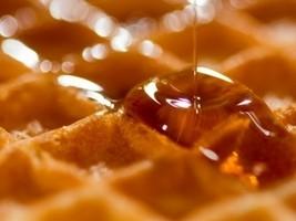 La ricetta del waffle con mirtilli e sciroppo d'acero
