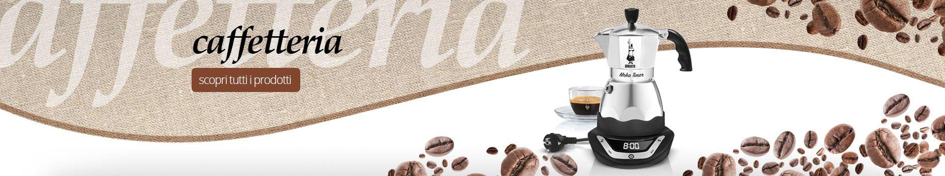 prodotti moka e caffettiere