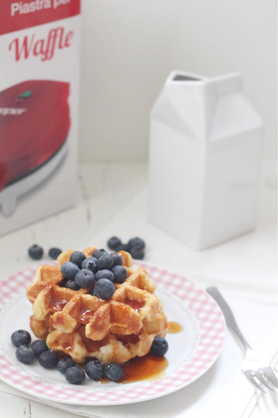 La ricetta del waffle con mirtilli e sciroppo d'acero_02